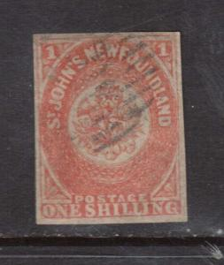 Newfoundland #15 XF Used **With Certificate**