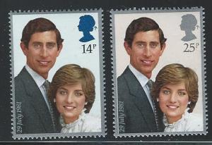 Great Britain  MNH sc 950 - 951