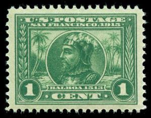 momen: US Stamps #397 Mint NH OG PSE Graded XF-SUP 95