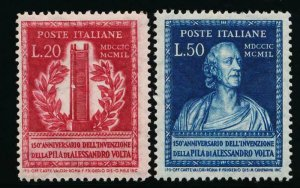 ITALY 526-527 MINT LH