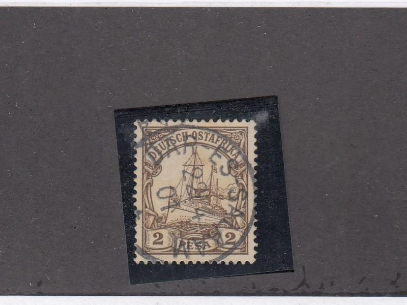 GERMAN EAST AFRICA LOT(KK9)# 11 WITH SUPERB DARES-SALAM  DATED TOWN CANCEL