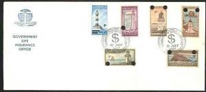 NEW ZEALAND 1967 Govt Life Lighthouses set decimal opts FDC cat NZ$125.....33612
