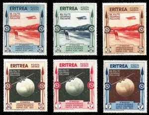 Eritrea Scott C1-C6 Mint never hinged.