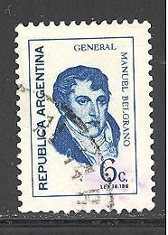 Argentina Sc 926 used (DT)