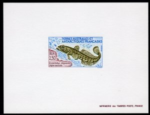 FSAT/TAAF 1992 Sc#168 LEGINE AUSTRALE  Deluxe S/S Imperforated MNH