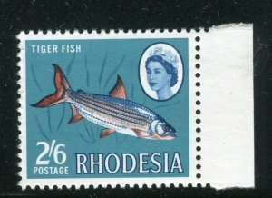 RHODESIA; 1964 early QEII Pictorial issue MINT MNH MARGIN 2s. 6d. value