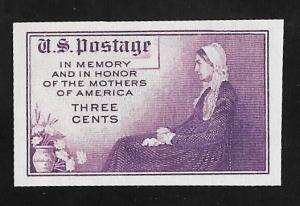 754 3 cents Mother's Day Whistlers Mother mint NH EGRADED XF-SUPERB 97 XXF