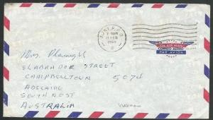 AUSTRALIA FORCES IN VIETNAM 1968 cover Aust. FPO 4 machine cancel..........58889