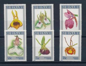 [SU382] Suriname Surinam 1984 Flora Flowers Orchids MNH
