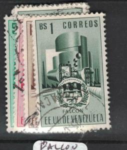 Venezuela Arms SC 555-7, 560 One Set VFU (5dwh)