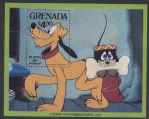 Grenada 1032 MNH Disney, Pluto´s 50th Anniversary