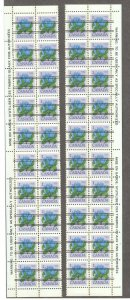 Canada #705 and 708 - XF NH All Precancel Left and Right BLock of 20