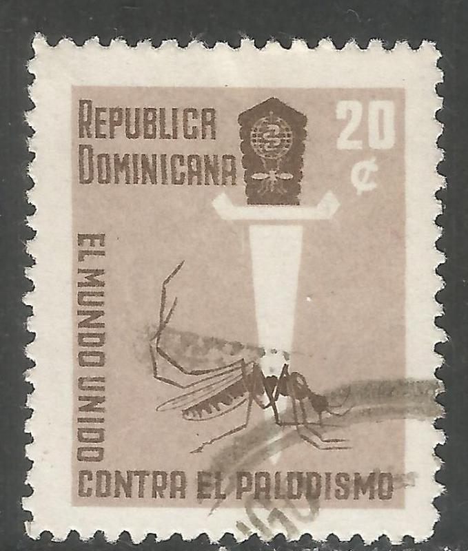 DOMINICAN REPUBLIC 559 VFU INSECT Y167-5