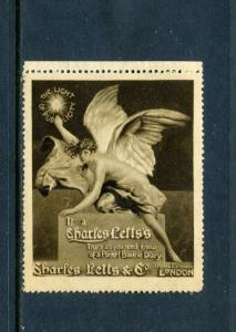 CHARLES LETTS Pocket Book Diary London POSTER STAMP WILKES-BARRE (L653) England