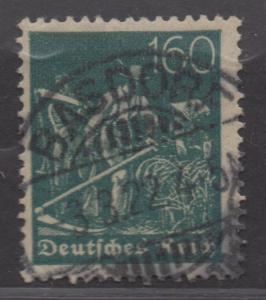 *Germany SC# 176 Used, FVF, Single, Nice Stamp