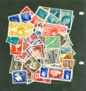 selection Romania 1957 with many better mint CV $70