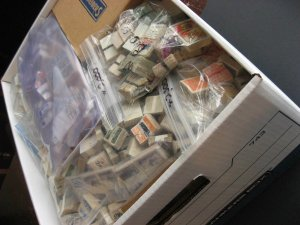 WW bankers box 125,000 packet makers estate, bundles, see description, pictures