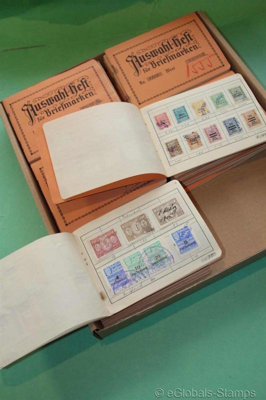 FISCAL REVENUES Stempelmarken Amazing Estate 6000 Stamps Collection RARE