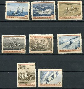 Russia 1954 Lyapin 1722-9 MNH Variety Lyapin ERROR #P1(1729) HiCV 7482
