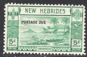 NEW HEBRIDES-BRITISH SCOTT J6