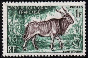 French Equatorial Africa - Scott 195 - Mint-No-Gum
