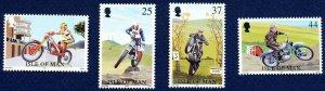 Isle of Man 1997- Motorcycles MNH Set # 757-760