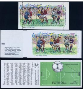 SWEDEN 1708a, Soccer, surtax for stamp collecting. MNH