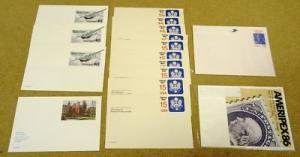 Mix of Mint USA Stamp Envelopes 16qty