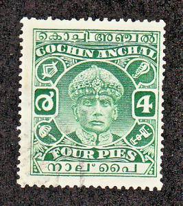 India Cochin Scott #42 Used