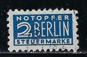 Germany AM Post Scott # RA2, used, perf 11