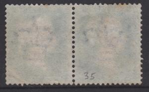 Great Britain 1855 QV 2d Blue Sc#17 SG#35 Used Pair BE BF