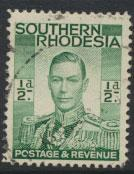 Southern Rhodesia SG 40  Fine Used