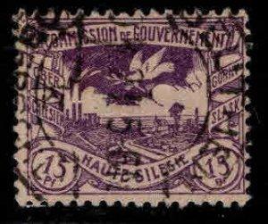 Upper Silesia Scott 19 Used 1920 stamp