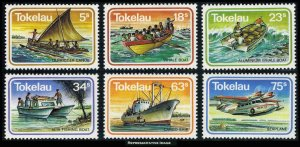 Tokelau Scott 91-96 Mint never hinged.