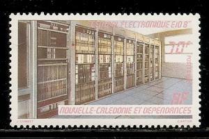 New Caledonia 525 1985 Railway Center single MNH