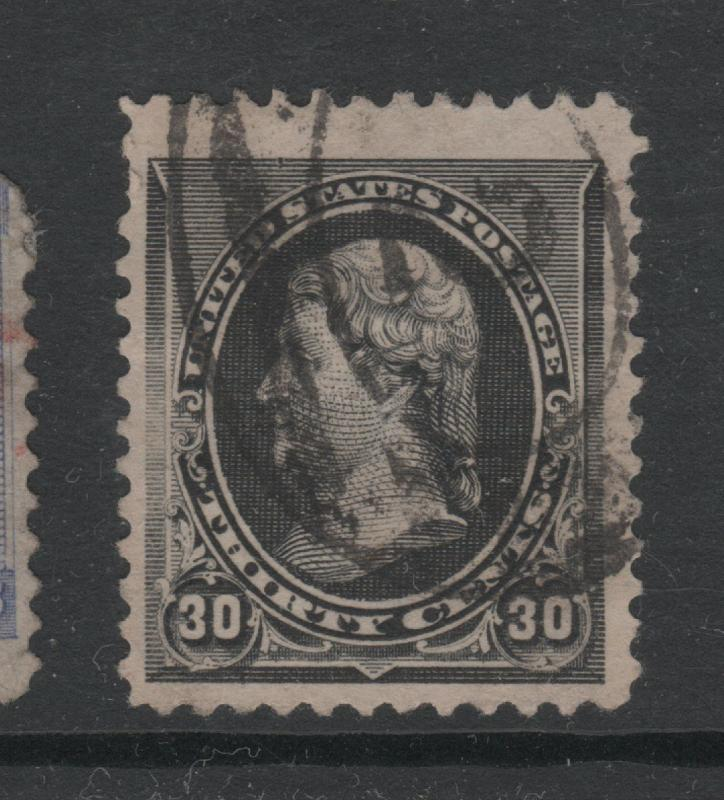 USA USED  STAMPS  scott 229 with TOP CENTERING 203  0718