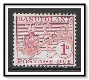 Basutoland #J3 Postage Due MHR