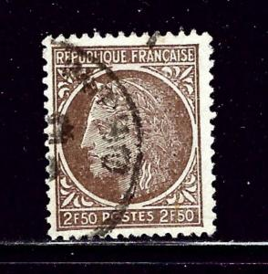 France 538 Used 1946 issue