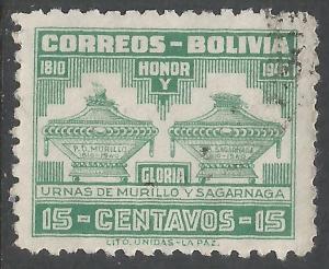 BOLIVIA 271 VFU M1188-4