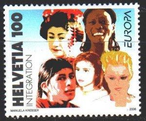 Switzerland. 2006. 1965. People, Europe sept. MNH.