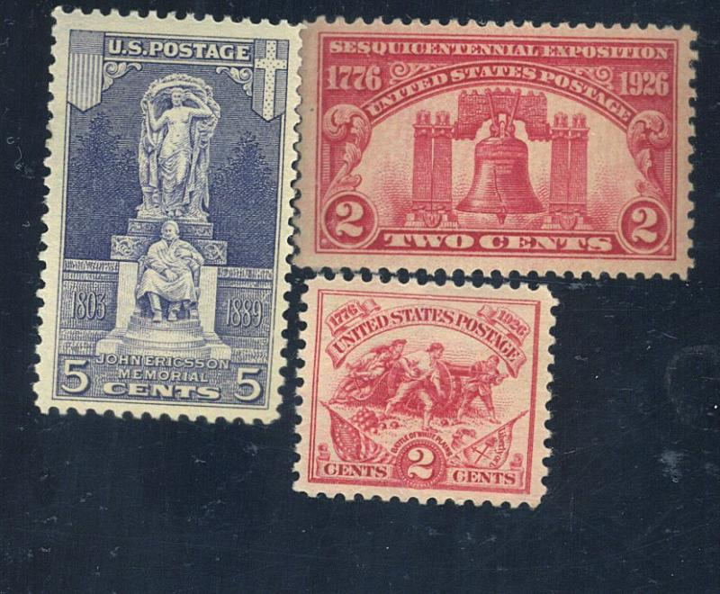 627-9 MINT F-VF OG NH CAt$16.25