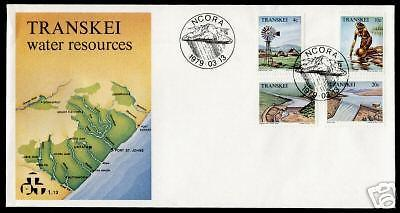 Transkei 58-61 on FDC Water Resources, Map, Dam, Windmill
