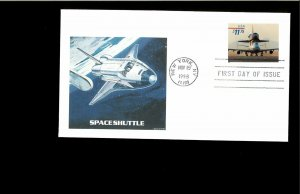 1998 FDC $11.75 Space Shuttle New York NY