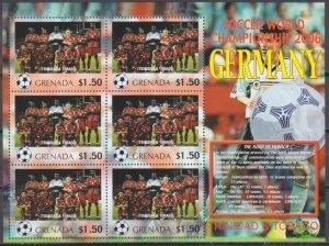 2006 Grenada 5712KL 2006 FIFA World Cup Germany( Trinidad Tobago ) 9,00 €