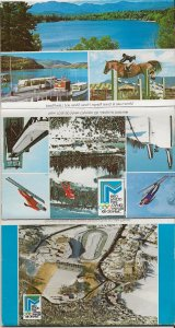 1980 Olympics Picture Mailing Folder. Lake Placid NY. Postally Used