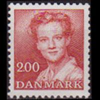 DENMARK 1982 - Scott# 703 Queen 2k LH