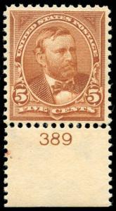 momen: US Stamps #270 Mint OG NH XF