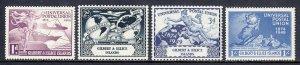 Gilbert and Ellice Islands - Scott #56-59 - MNH - SCV $4.85