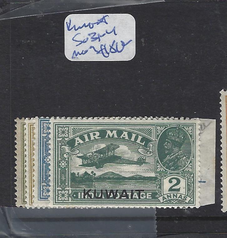 KUWAIT  (PP2102B)  ON INDIA KGV  A/M SET SG 31-4   MOG