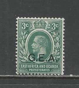 German East Africa Scott catalog #N107 Unused Hinged